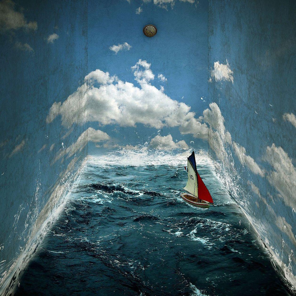 Michael Vincent Manalo - The Earth Room. Digital Mixed-Media, 80x80cm (2010)