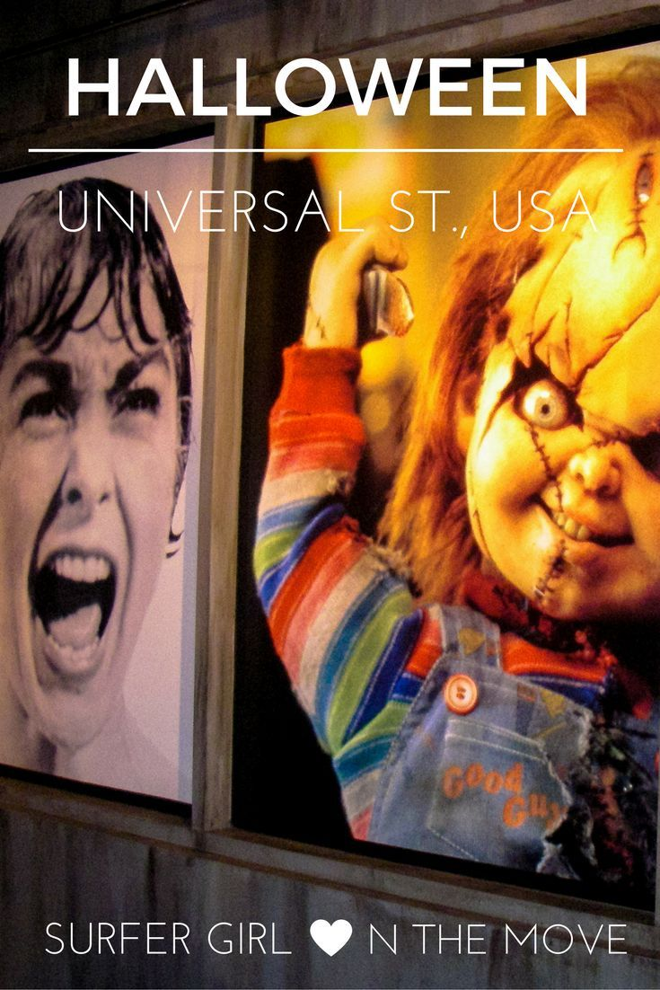 Halloween in Hollywood can be very special, especially in the Universal Studios. Check the post for more.
