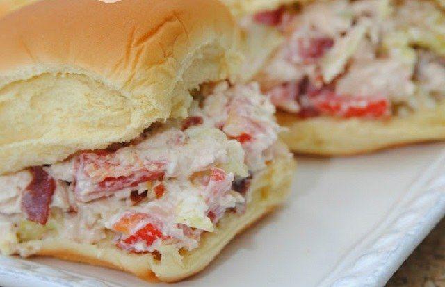 Sándwich de ensalada de pollo | Recetas faciles, Videos de Cocina | SaborContinental.com