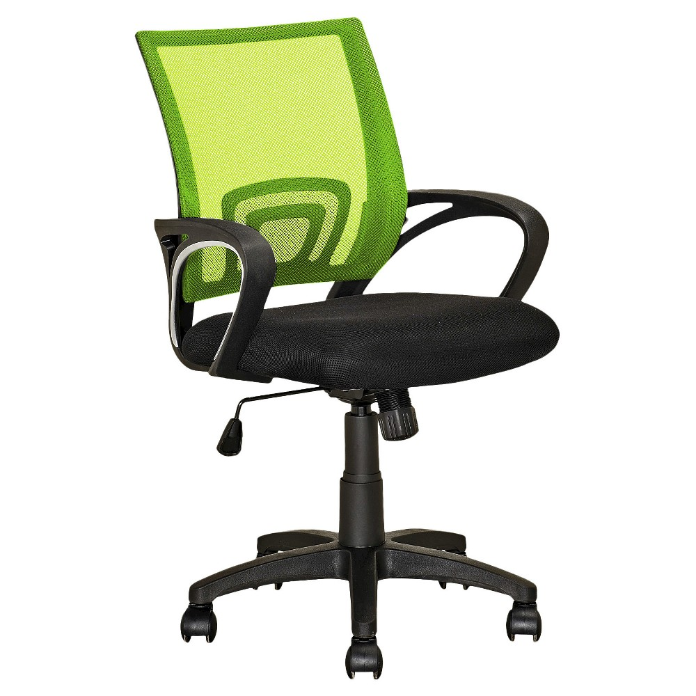 Workspace Mesh Back Office Chair Lime Green CorLiving