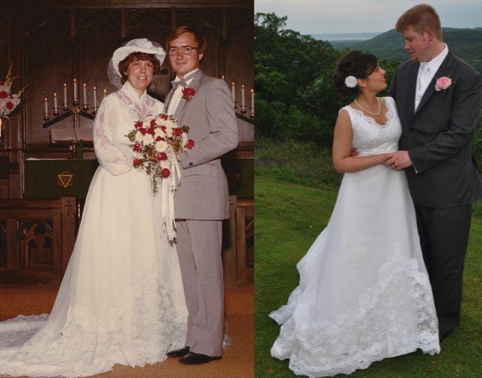 Altering Old Wedding Dress