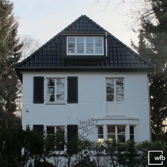 Ein schönes Stadthaus in Hamburg wurde mit unseren