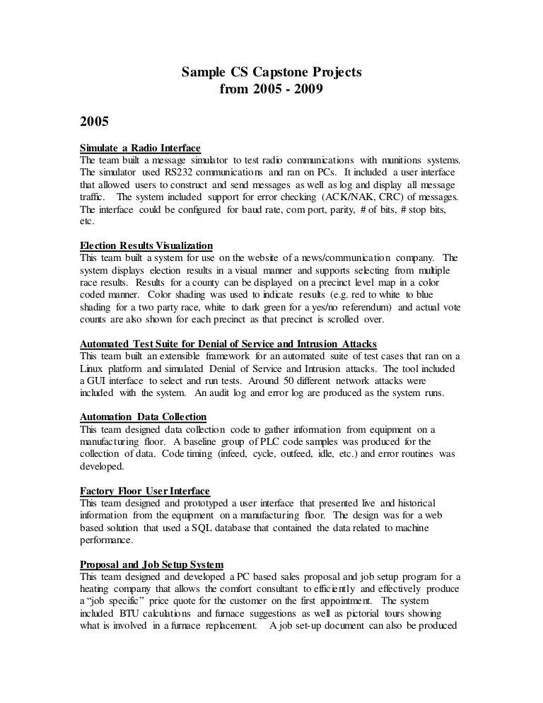 Example Of Capstone Project Essay Professional Writing Academic Youth Violence Essays