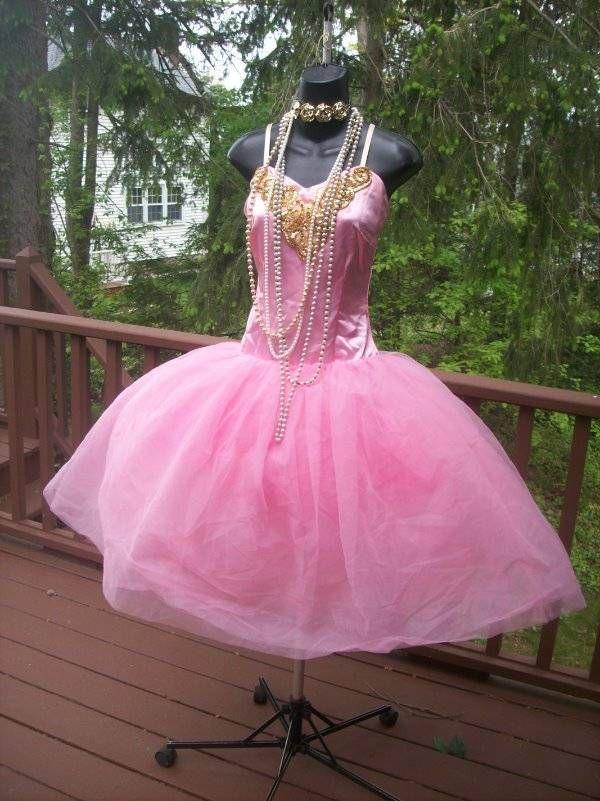 VINTAGE 80s CYNDI LAUPER STYLE PROM PARTY DRESS S | Prom | Pinterest ...