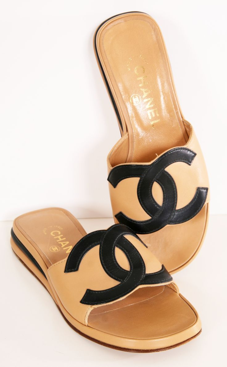 Chaussure CHANEL   CHANEL   Shoe Closet   Pinterest   Chanel flats ... c76f5130317