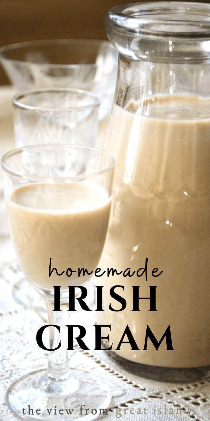 Photo of How to Make Homemade Irish Cream (VIDEO)