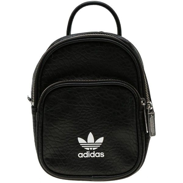 Adidas Originals Mini Backpack ( 39) ❤ liked on Polyvore featuring bags 6388f728cc447