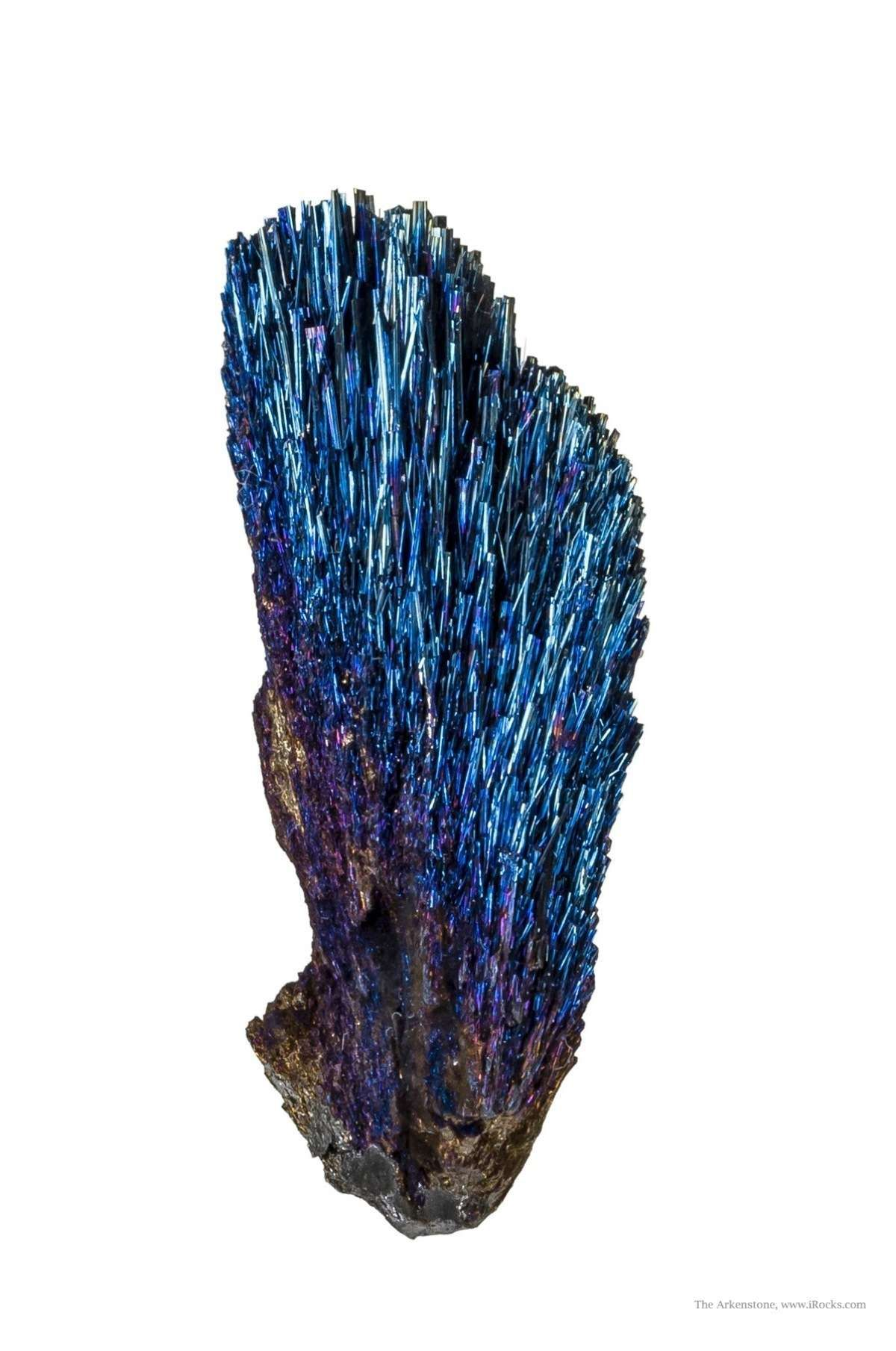 This Stunning Iridescent Specimen Rare Mineral Species This Truly