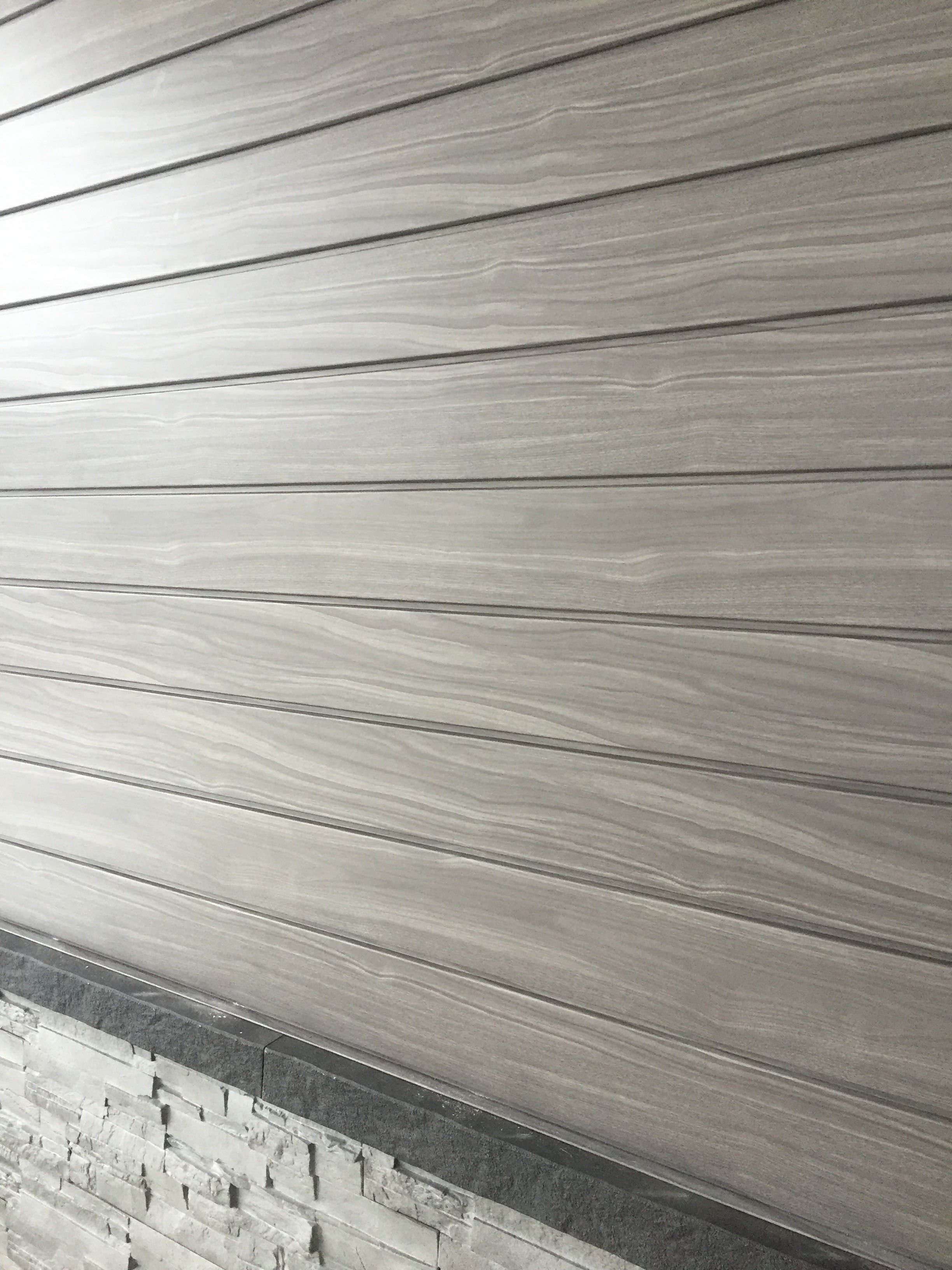 This Grey Toned Wood Look Is Very Modern Looking Get With Distinction Grain Steel Siding