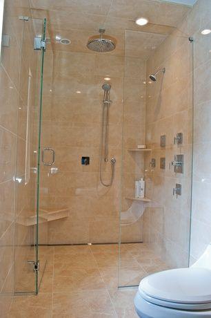 Contemporary Master Bathroom with Kohler Awaken B90 Handshower Kit ...