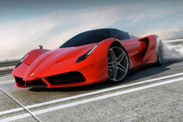 Ferrari F70 Hybrid Concept With Images Super Cars Sports Cars