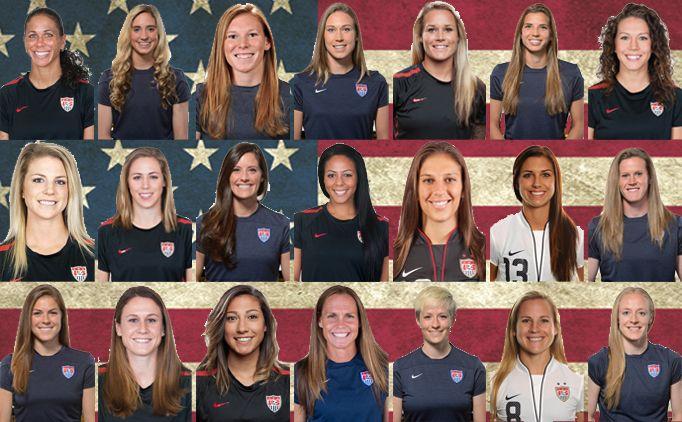 Us Women S National Soccer Team 2013 Google Search Us Women S National Soccer Team Women S Soccer Team Usa Soccer Women