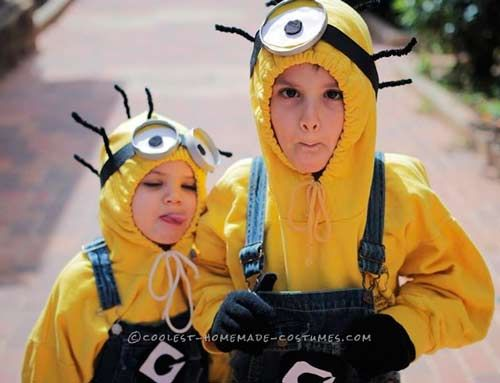 disfraces de halloween minions