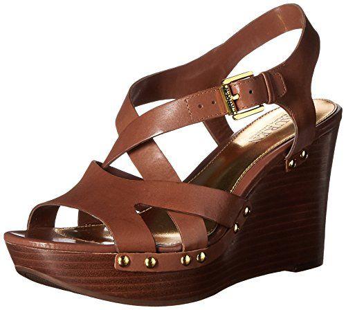 Lauren Ralph Lauren Womens Heeled Sandals | Bena Deep