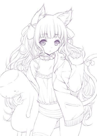 Tumblr Mhzunkhwwx1qcg4ffo1 400 Jpg 400 559 Anime Lineart Anime Cute Coloring Pages