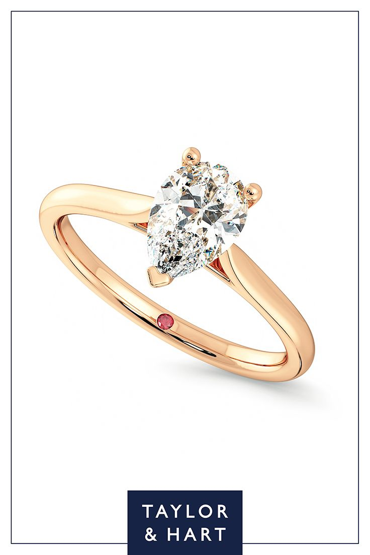 Get inspired by this fabulously classic diamond solitaire engagement