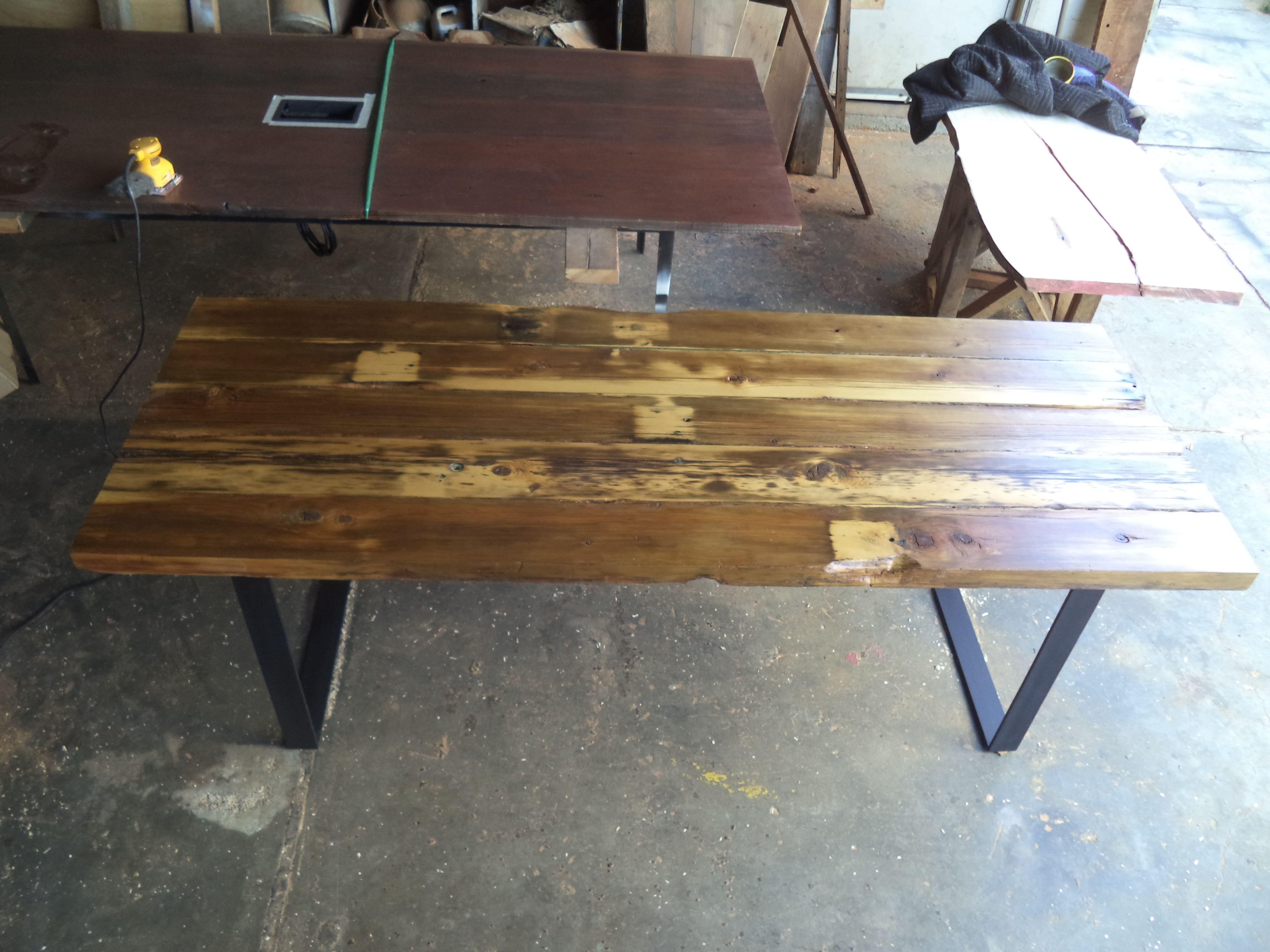 Alaskan Cedar Dining Table Table Pallet Table Dining Table
