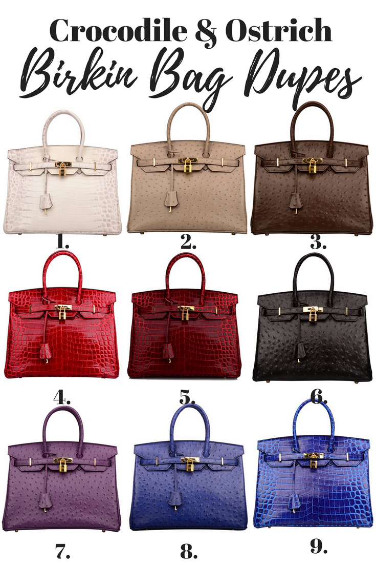a5da33038c Birkin Inspired Handbags - Your Ultimate Guide To Hermes Bag Dupes ...