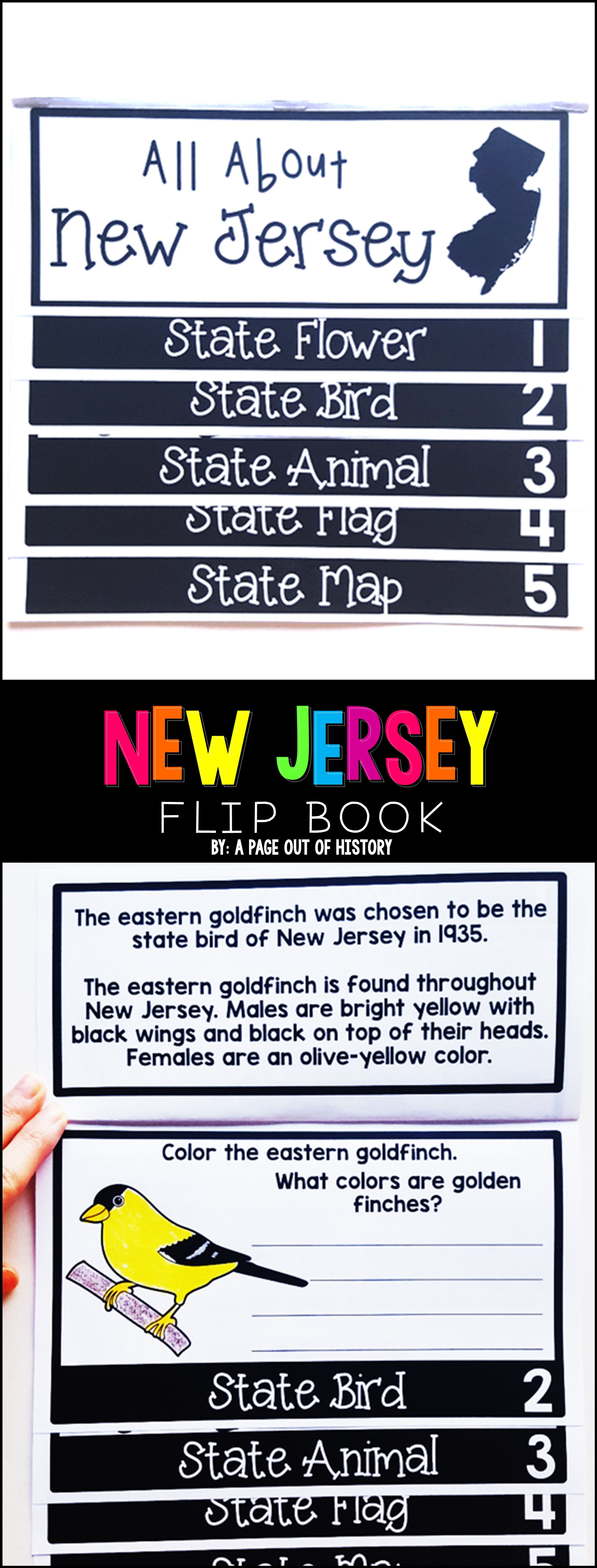 New Jersey State Flipbook With Images
