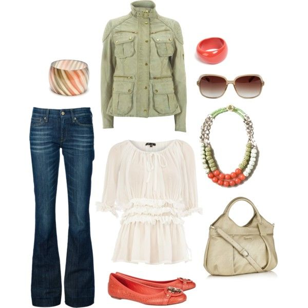 """""""Green & Pink Casual"""" by Amanda Morris on Polyvore"""