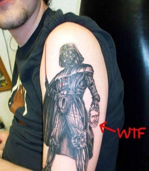 Vadder ummmm yeah i don 39 t remember this scene from star for Luke skywalker tattoo