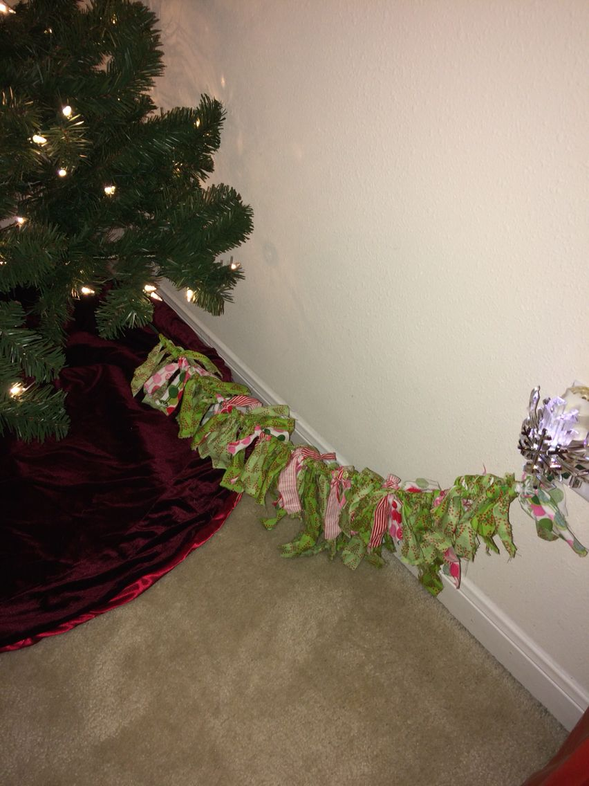 Every year I have to put my tree in a corner where you always see the cord to plug in the lights ...