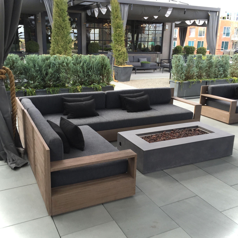 6+ Gorgeous Outdoor Garden Furniture Ideas  Wood patio furniture