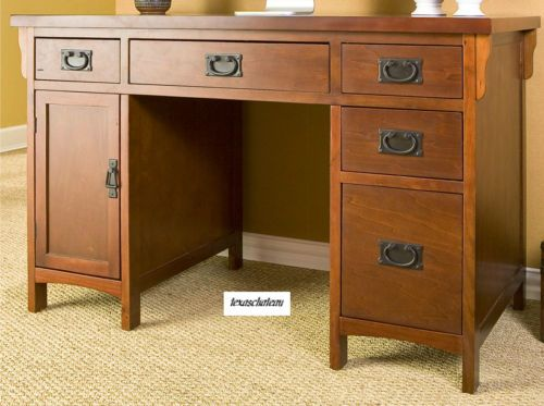 Mission Oak Comp Desk Ebay 429 99