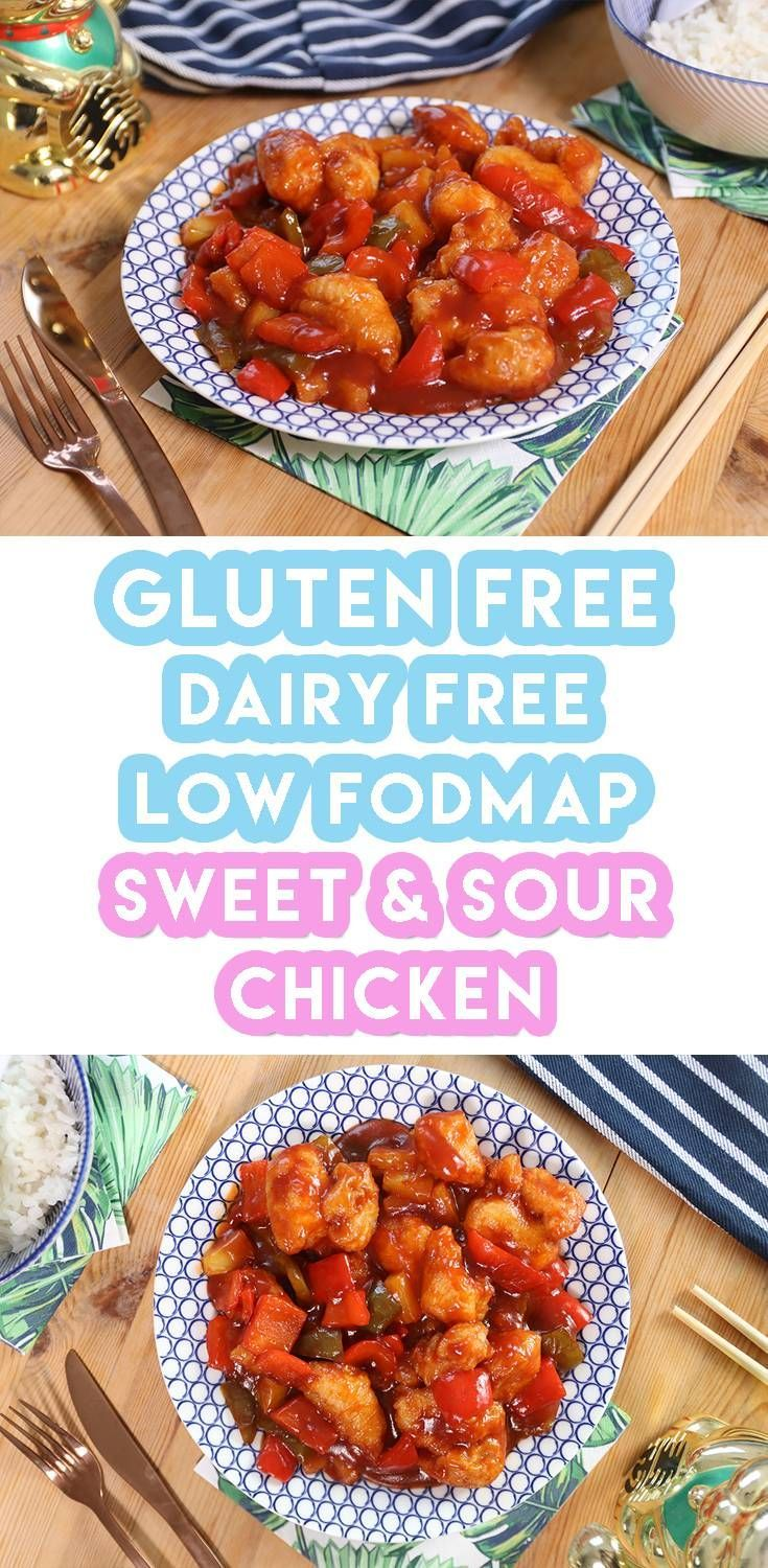 Gluten free sweet and sour chicken (low FODMAP, dairy free) images