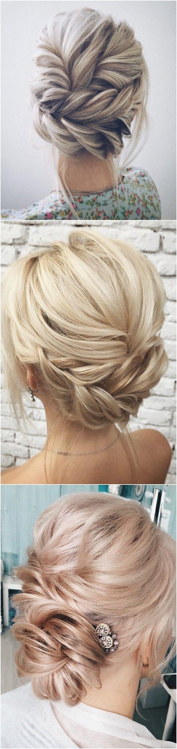 Twisted wedding updo hairstyle hair pinterest wedding updo