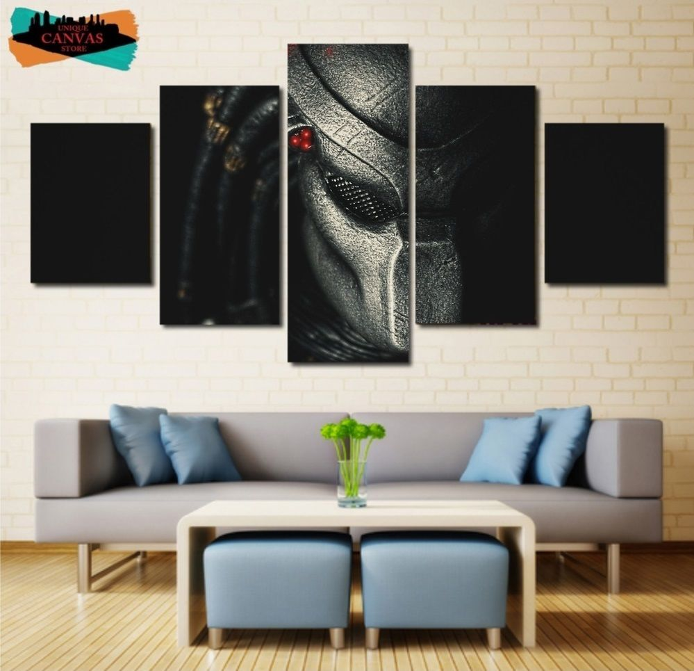 The predator wall art decor oil painting canvas framed the predator
