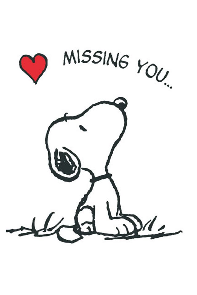 Missing You | Peanuts Gang | Snoopy quotes, Quotes, Snoopy