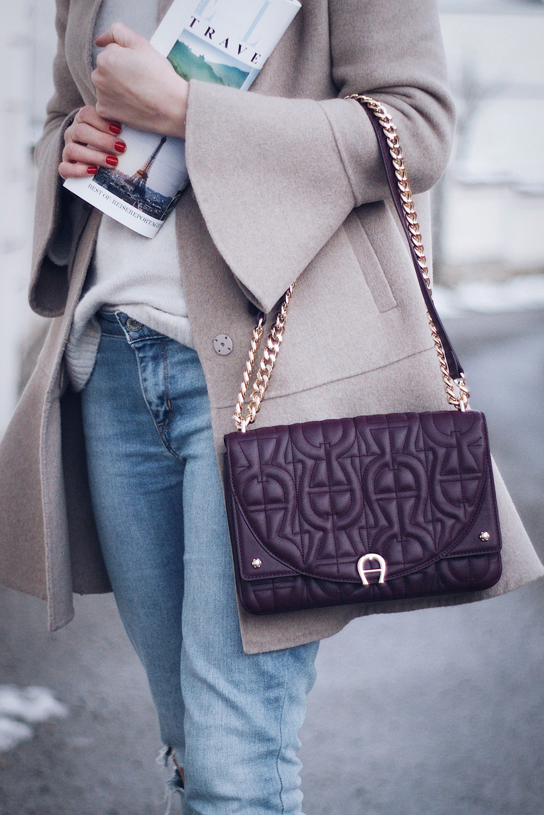 new lower prices cozy fresh various design Winter Streetstyle Outfit mit Levis Jeans, einem warmen ...