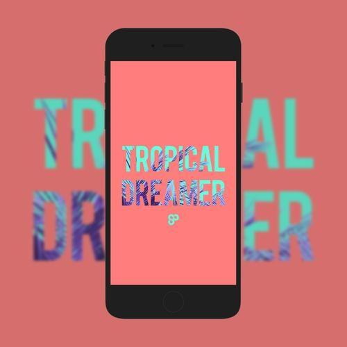 Tropical Dreamer Phone Wallpaper Free Wallpaper Wallpaper Free Download Pineapple Design