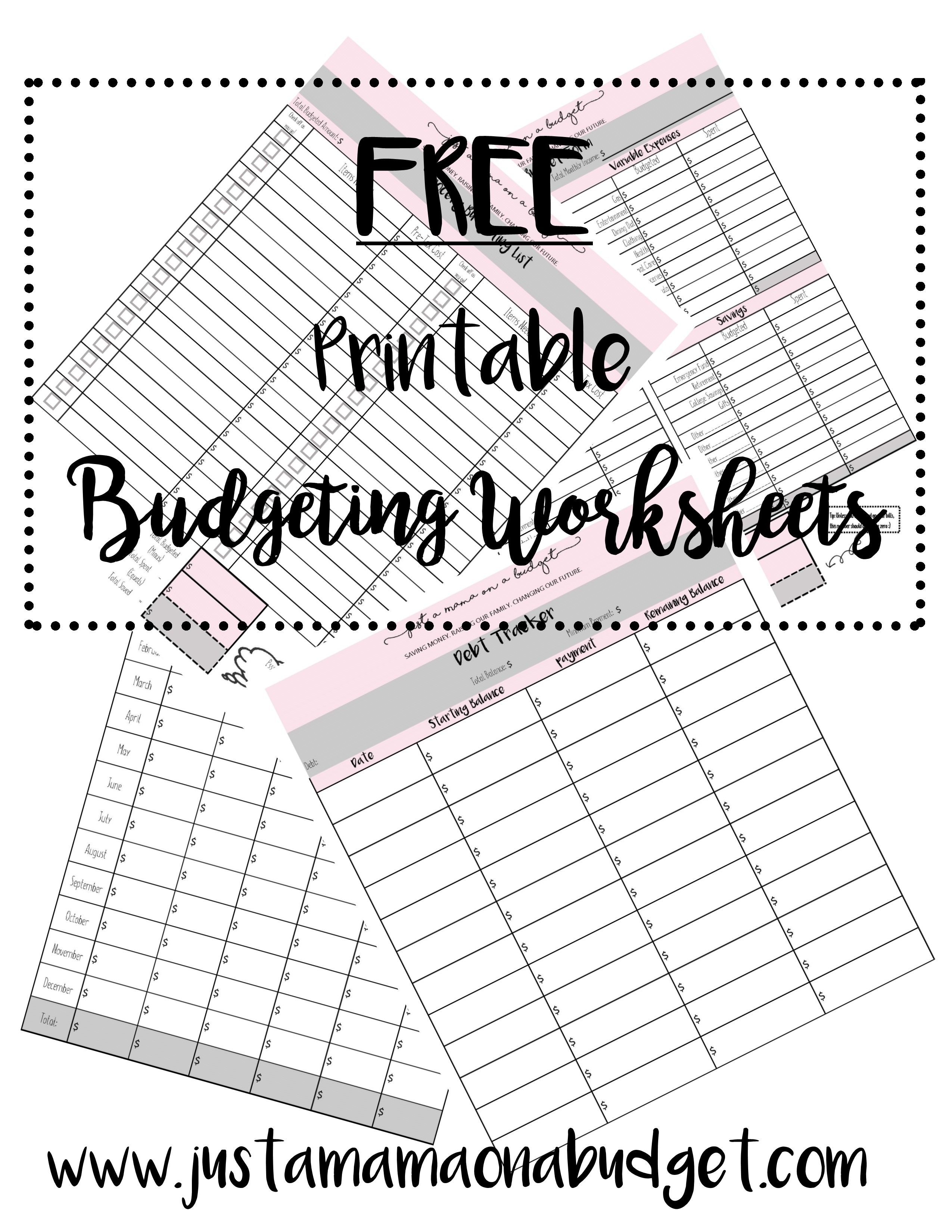 4 Great Budgeting Forms To Help Organize Your Finances On