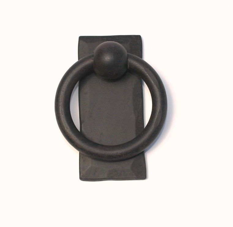 Wrought Iron Ring Pull With Long Back Plate Closet Door Handles Med 2 125 In Dia 1 2 Wrought Iron Doors Closet Door Handles Wrought Iron Cabinet Hardware Ring pull cabinet hardware
