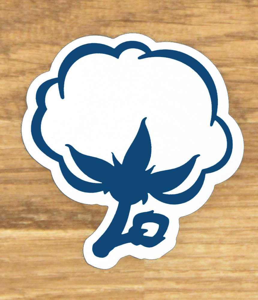 Cotton Logo Sticker Preppy stickers, Southern shirt