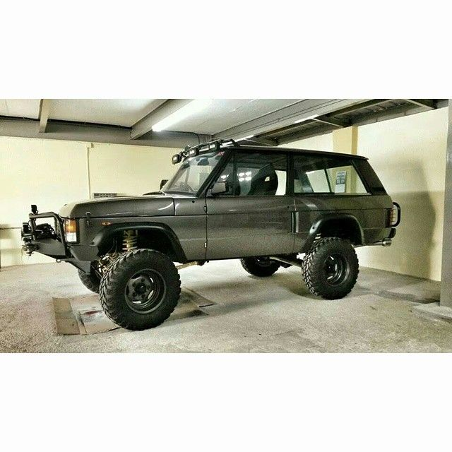 """""""Range rover classic 2 door offroad custom From Fan #RangeRover #vogue…"""