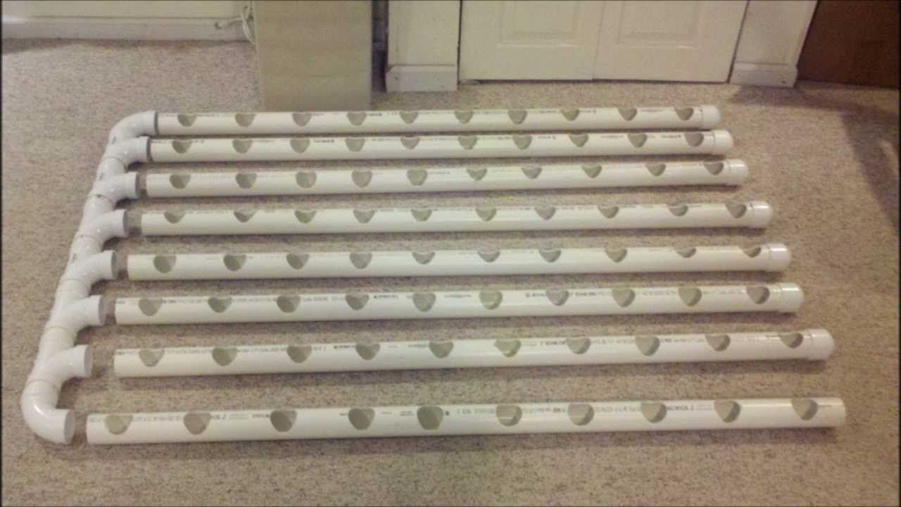 Do It Yourself Indoor Vertical Hydroponics System The