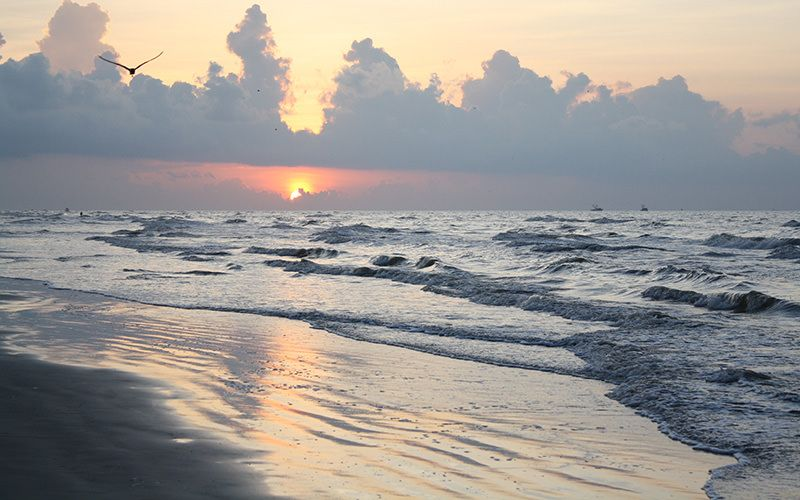 East Beach Galveston Texas
