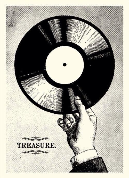 Music Poster, Vinyl Art, Vinyl Music