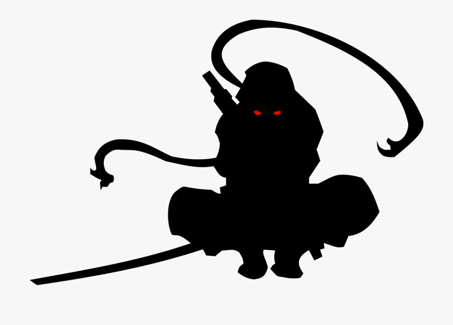 Ninja Silhouette 14 Silhouette Ninja Party Ninja
