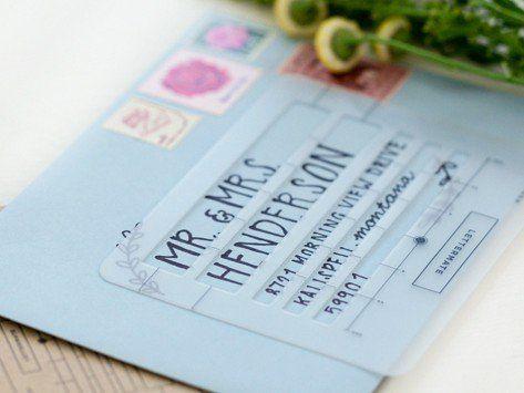 Letter Addressing Stencil.Envelope Addressing Stencil Wreaths Addressing Envelopes