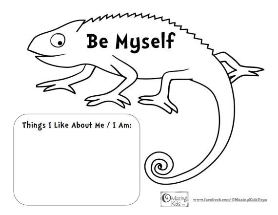 eric carle chameleon template - mixed up chameleon and a color of his own be myself