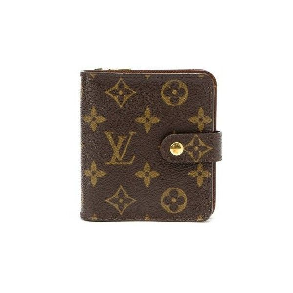 Louis Vuitton Pre Owned Brown Monogram Canvas French Wallet 1 615 Brl Liked On Polyvor Louis Vuitton Agenda Louis Vuitton Monogram Louis Vuitton Agenda Pm