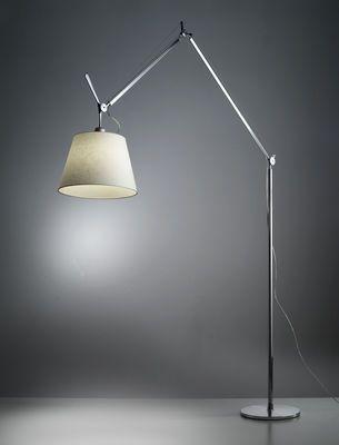 Floor Lamp Tolomeo Mega By Artemide Beige Made In Design Uk