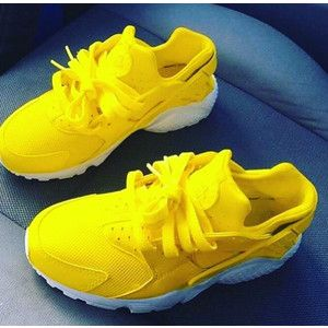 nike huarache amarillas