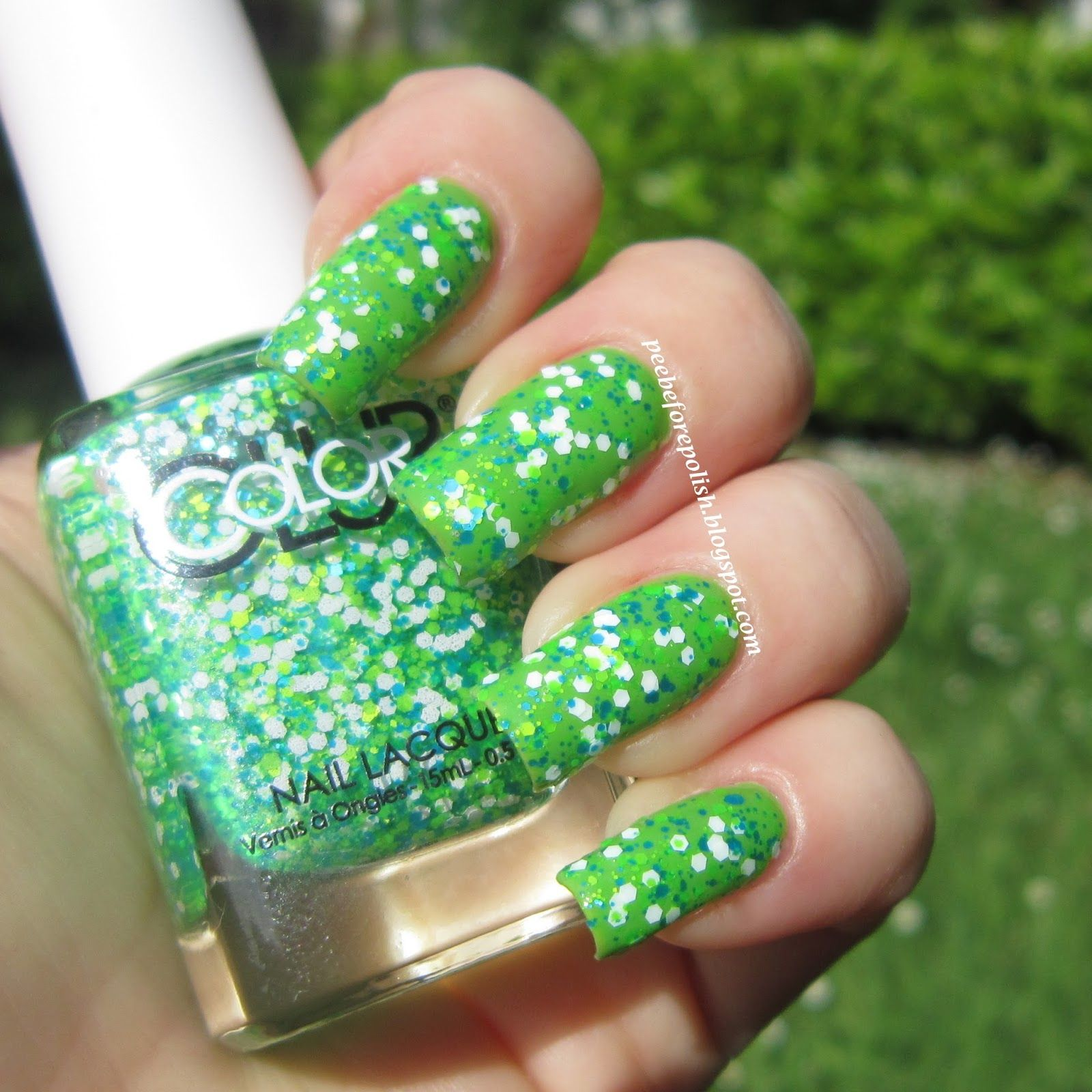 Pee Before Polish: Color Club Go-Go Green | Nail Polish - Green ...
