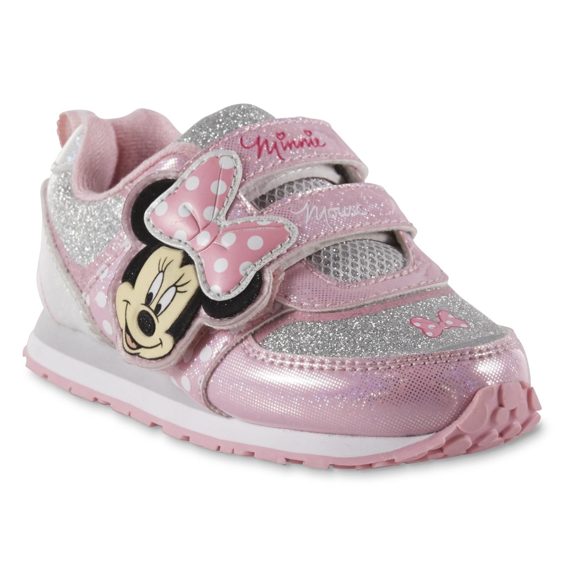 f6ac7fee44de Sears - Online Minnie Mouse Pink, Baby Shoes, Toddler Girl, Athletic Shoes,