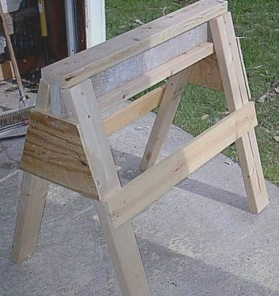 39 Free Sawhorse Plans In The Hunt For Ultimate Saw Horse